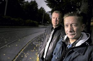 Kuvassa vasemmalla Matti Silmu ja oikealla hänen veljensä Simo Silmu.