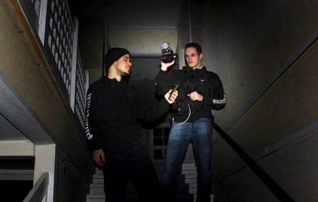Markus (vas) ja Mika Nikkilä, kuva: Kai Merilä
