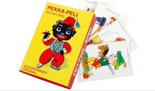 Pekka-pelikortteja myydään Prismassakin