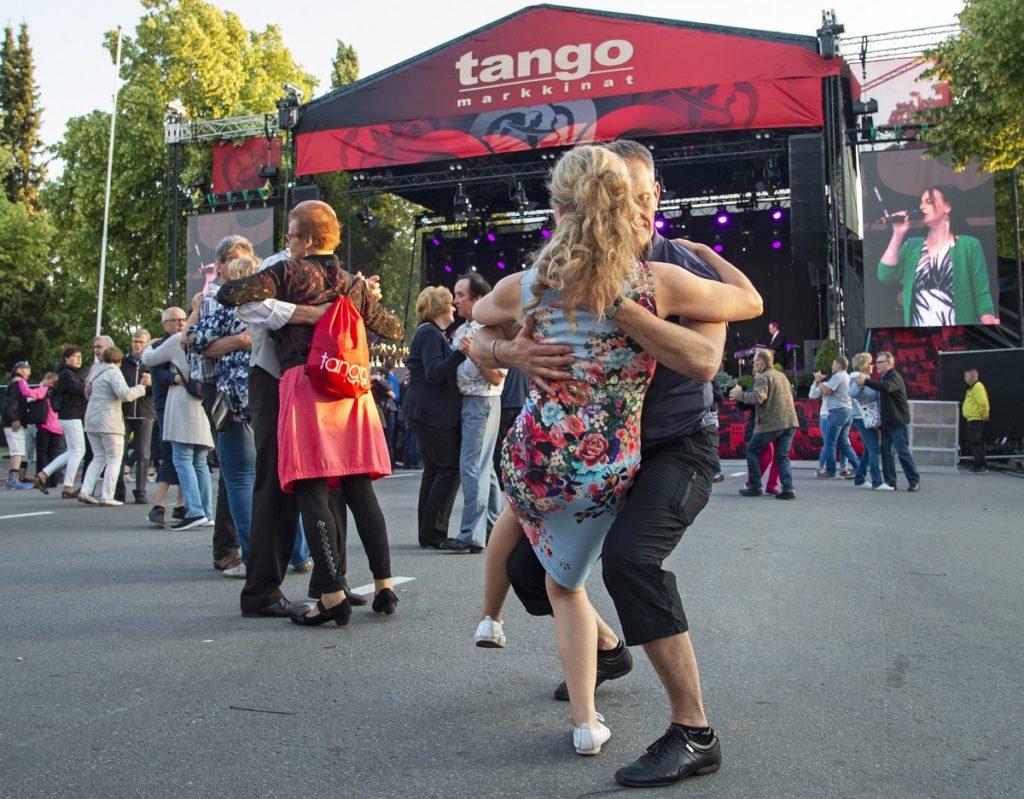 Seinäjoen tangomarkkinat tanssijoita